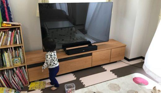 子どもがテレビを叩く…対策に液晶保護パネルを設置したら完全防御できた