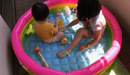 子どもが大喜び!家のベランダで入れるビニールプールを買って、使ってみた